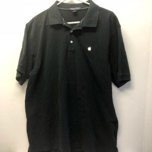 Apple Computer Polo Golf Shirt Mens Size Large